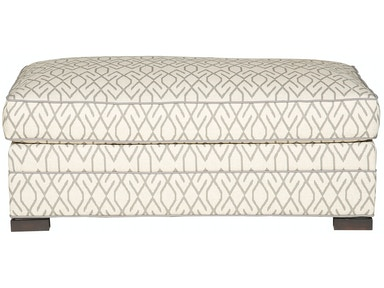 Vanguard Furniture Nicholas Ottoman And Half