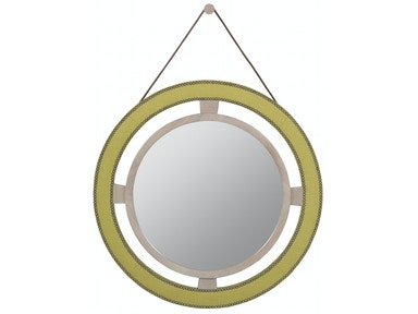 Vanguard Robineau Road Upholstered Round Mirror 9400-MI