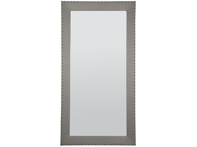 Vanguard Furniture Corinthian Club Upholstered Floor Mirror
