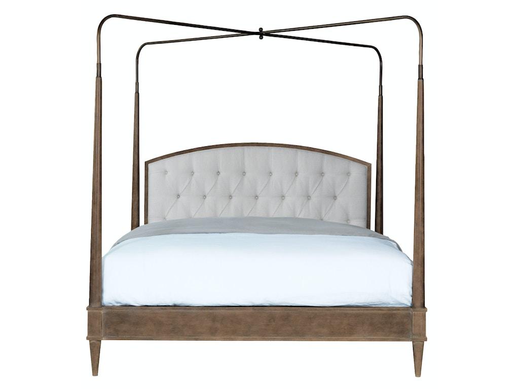 Bed Canopy No Nails : Vanguard bedroom anderkit tufted headboard queen bed