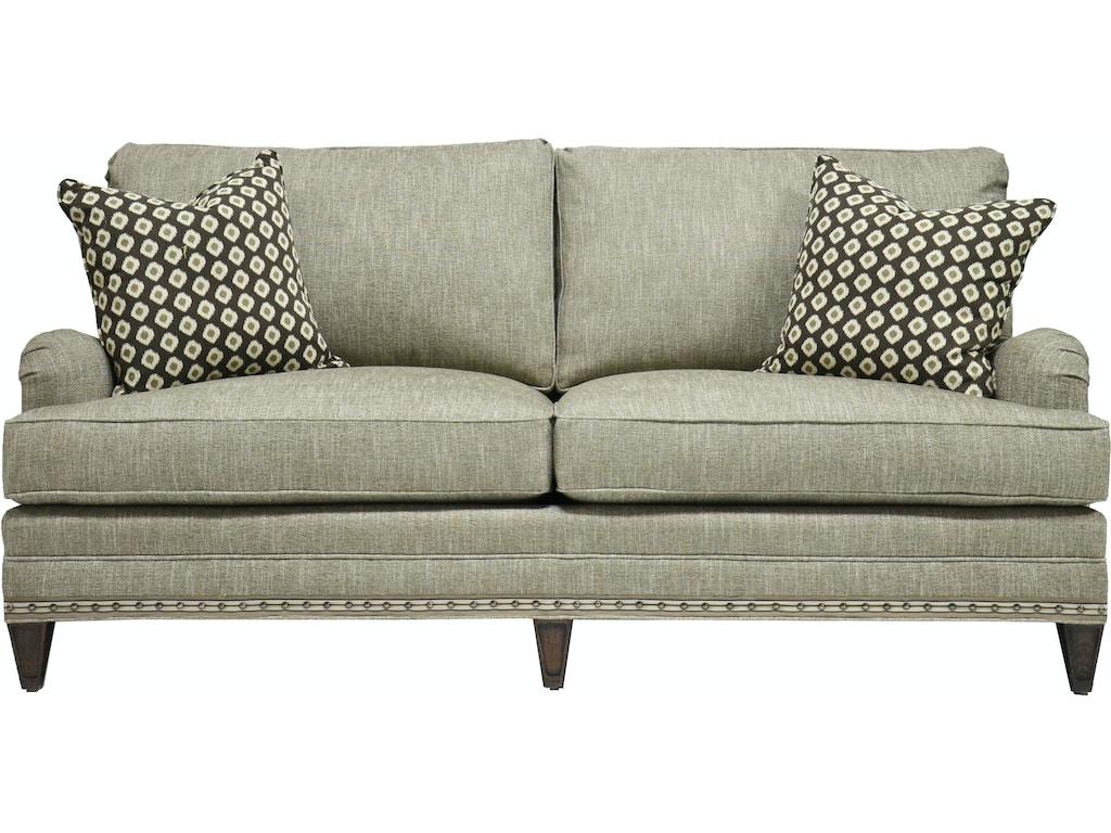 Vanguard Living Room Winslow Sofa V295 S Seville Home Leawood Kansas City Olathe And