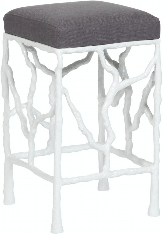 Vanguard Bar And Game Room Piers Metal Frame Counter Stool