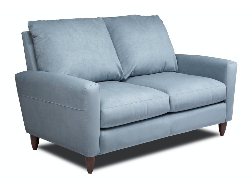 American Leather Two Cushion Loveseat Ben Lvs St