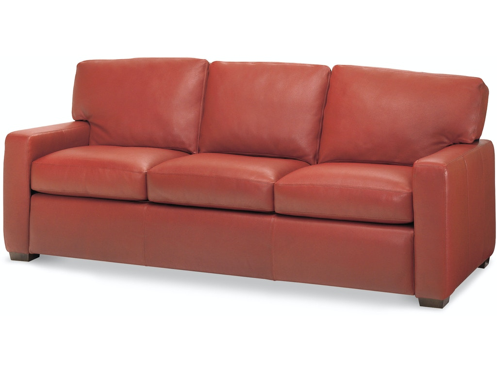 American Leather Living Room Three Cushion Sofa Csn So3 St