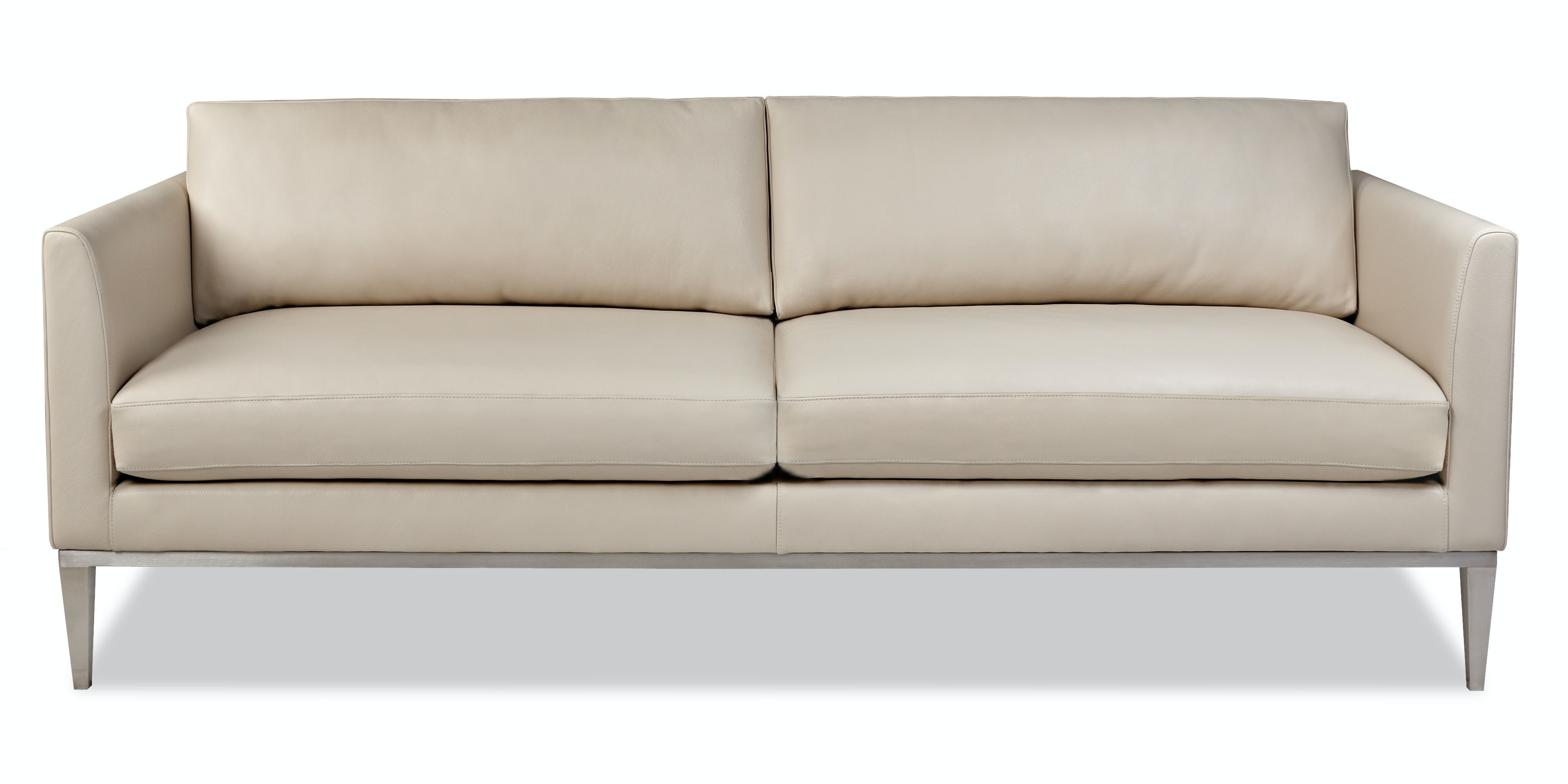 American Leather Living Room Two Cushion Sofa Hen So2 St