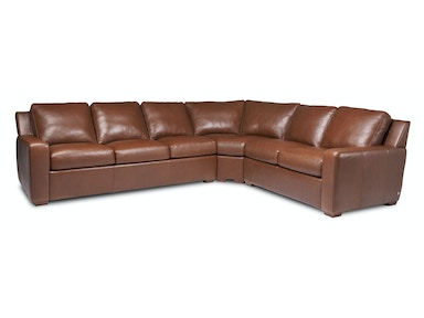 American Leather Living Room Lisben Sectional