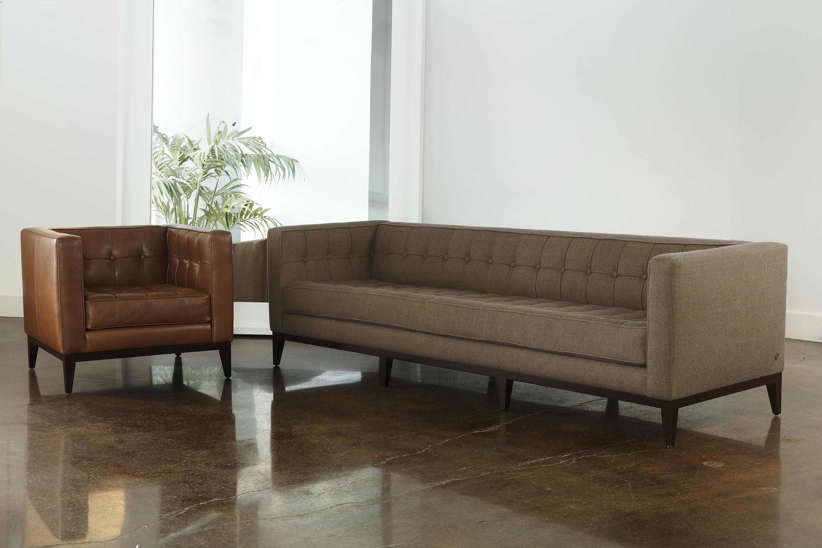 American Leather One Cushion Sofa LUX SO2 LG