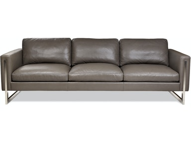 American Leather Living Room Three Cushion Sofa