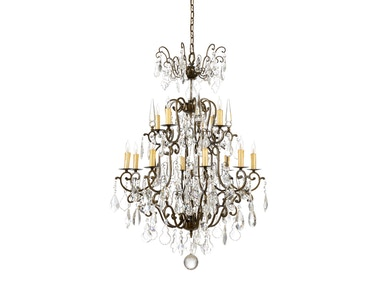 Wildwood Lamps Iron Chandelier 1163