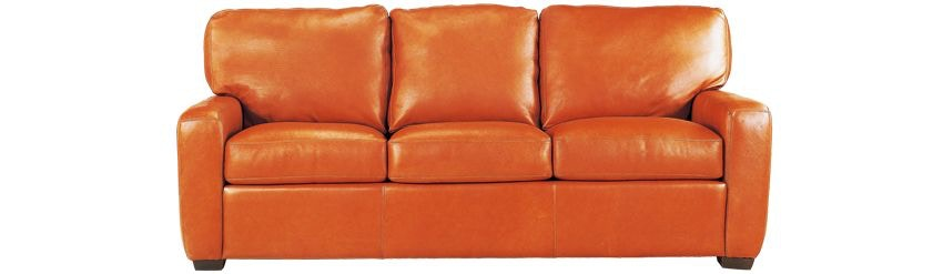 Beau Legacy Leather San Diego Sofa
