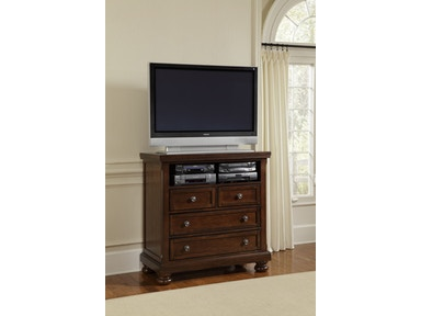 Vaughan-Bassett Furniture Company Reflections Entertainment Center 470505