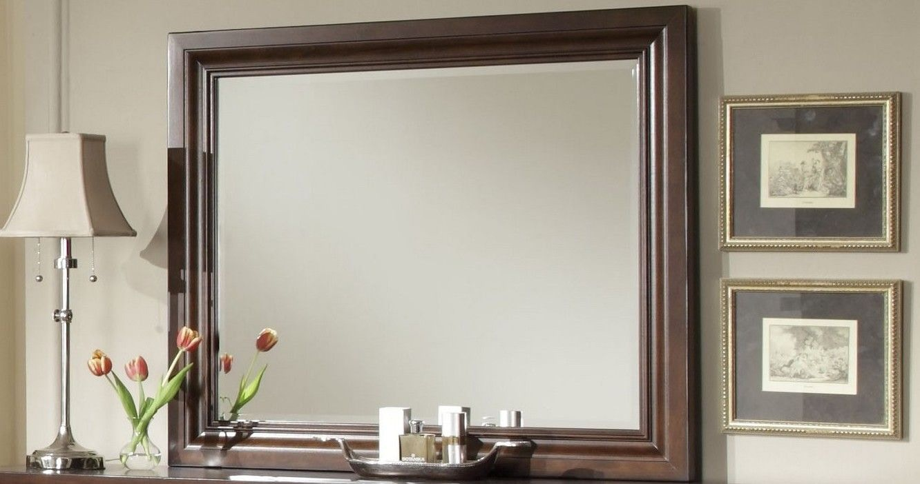 Ordinaire Vaughan Bassett Furniture Company Reflections Landscape Mirror 470504