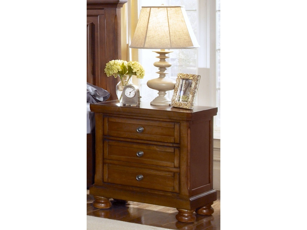 Vaughan bassett furniture company bedroom night stand 532 for H plan bedroom furniture