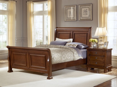 Vaughan-Bassett Furniture Company Sleigh Hb 5/0 532-553