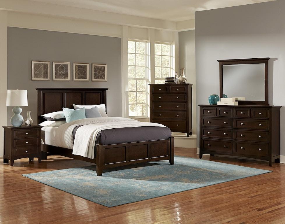 Vaughan Bassett Furniture Company Bedroom Mansion Headboard