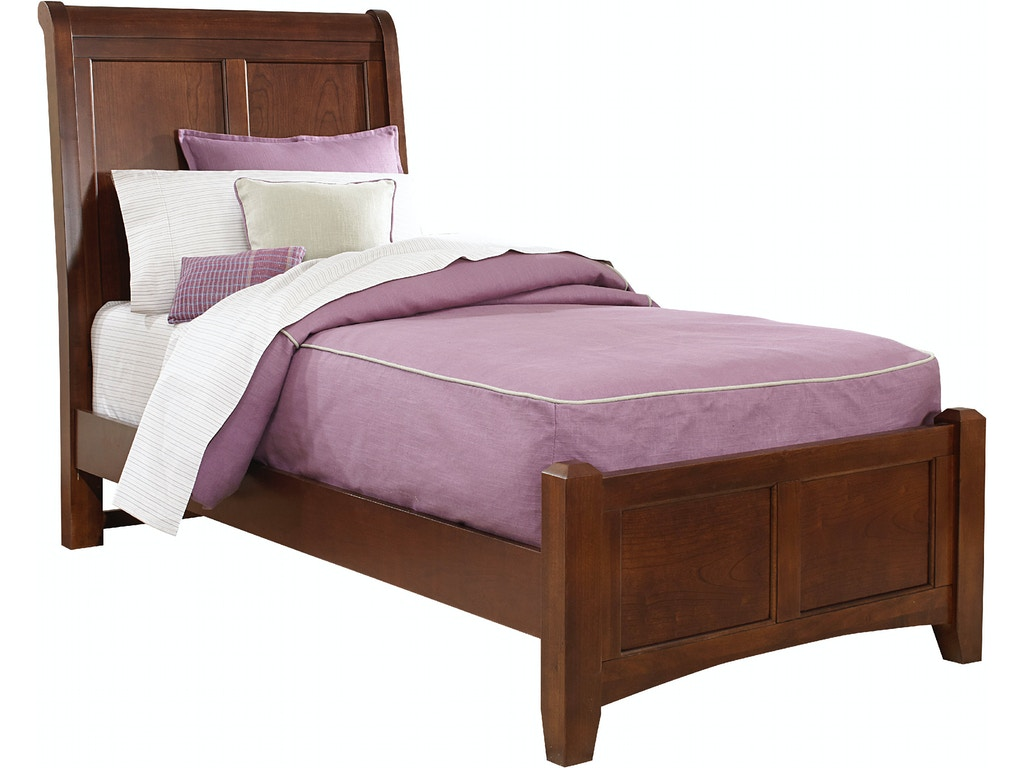 Vaughan bassett furniture company youth sleigh headboard 3 for Bassett furniture