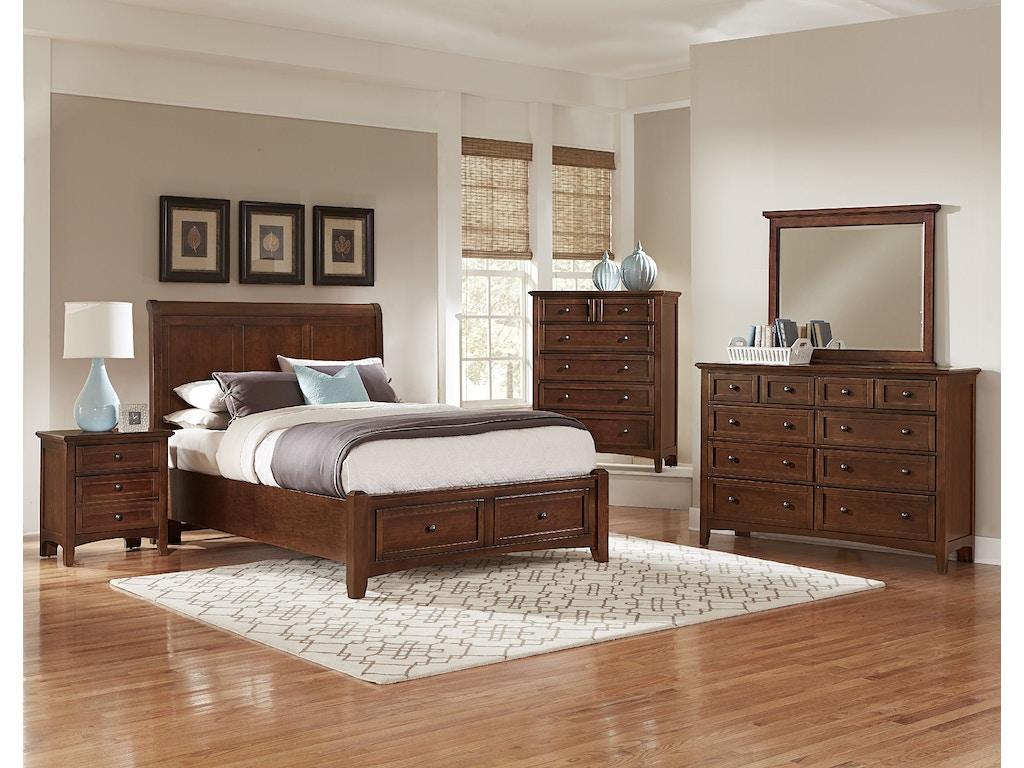 Vaughan bassett bedroom chest bb28 115 ramsey furniture for Bedroom furniture 30324