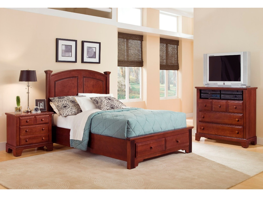 Vaughan bassett furniture company bedroom panel headboard for Bedroom furniture limerick