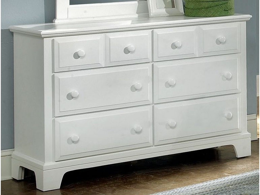 Vaughan bassett bedroom dresser bb6 001 seaside for Bassett bedroom furniture