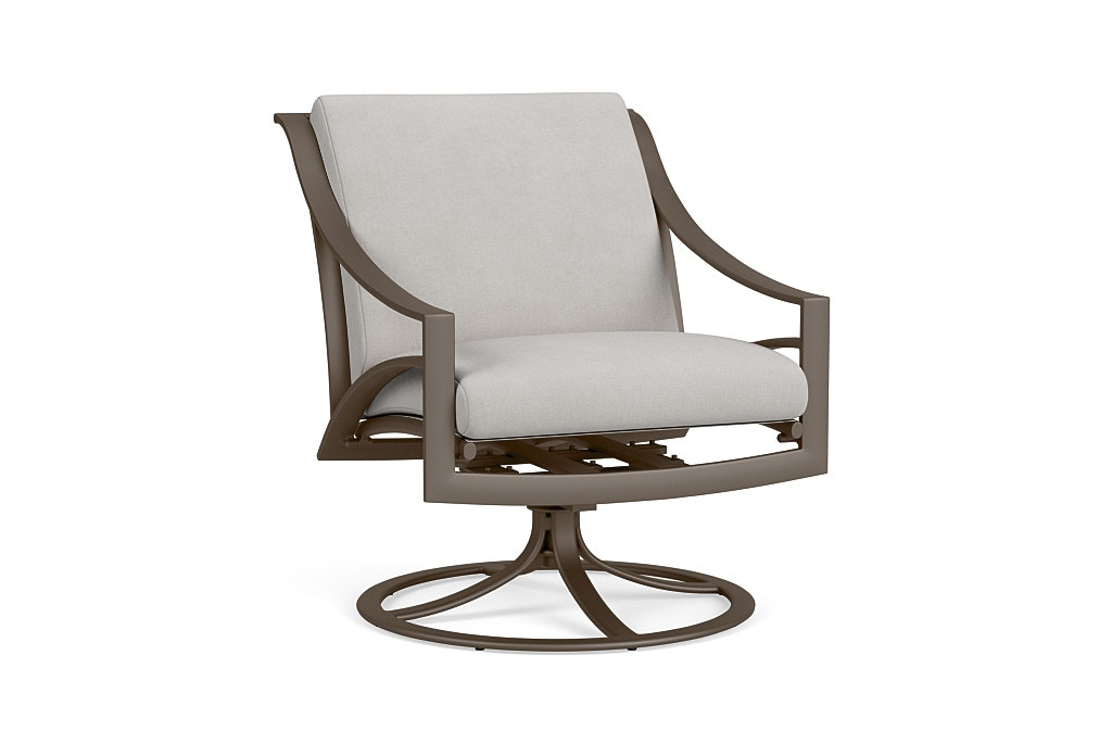 Brown Jordan Swivel Motion Lounge Chair With Cushion 5300 5300