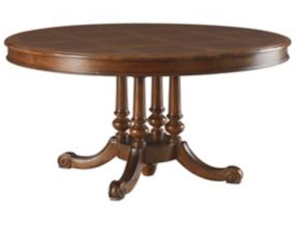 Henredon dining room dining table top 4404 20t lenoir for Dining room johnson city tn