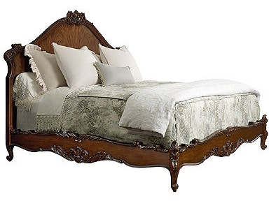 Henredon Bed, 6/6 (King) Headboard And Footboard 5041-12HF