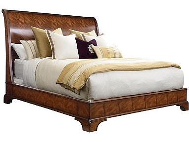 Henredon Bed, 6/6 (King) Headboard And Footboard 9600-12HF