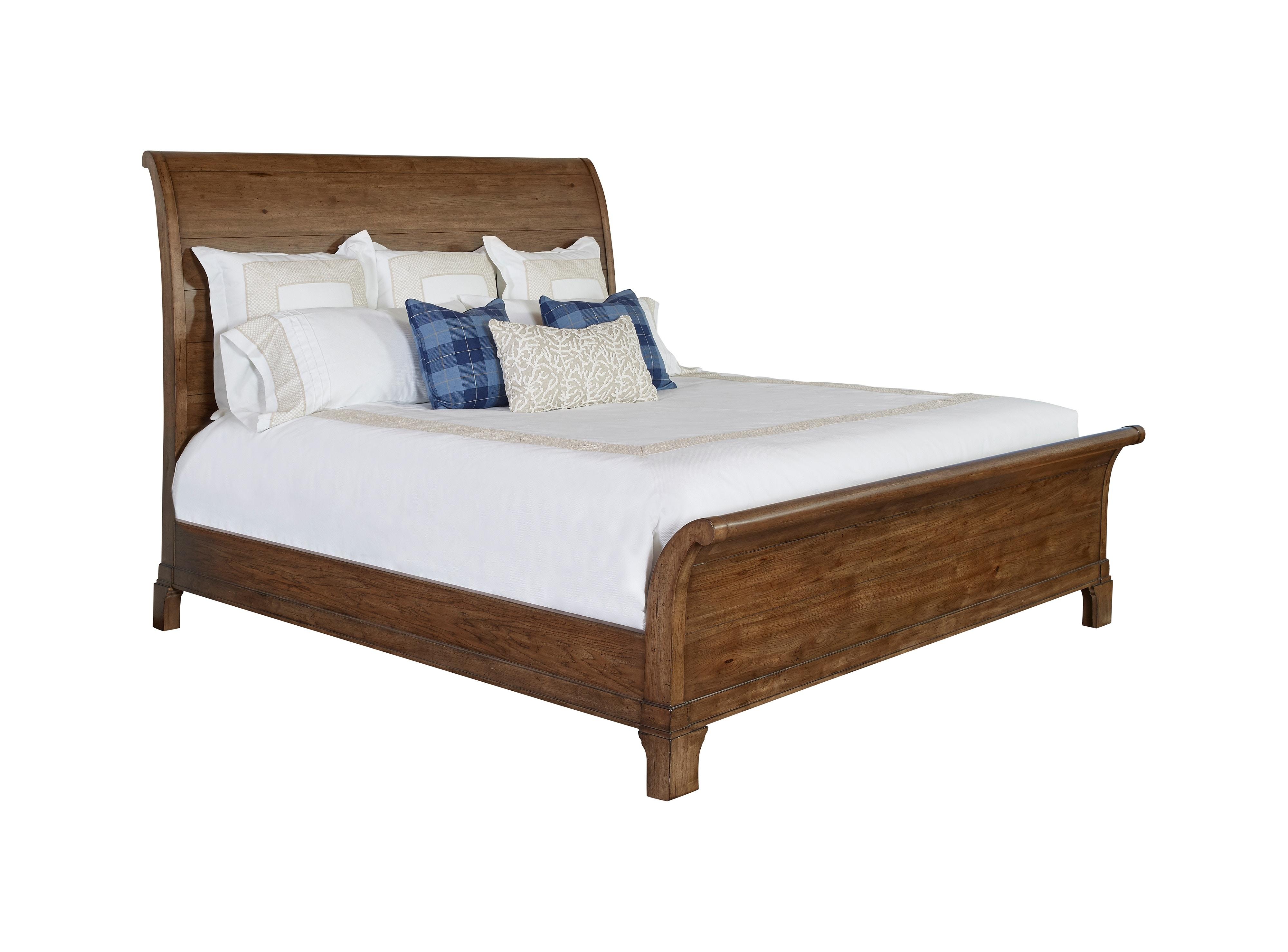 drexel suffolk sleigh bed queen 325352hb