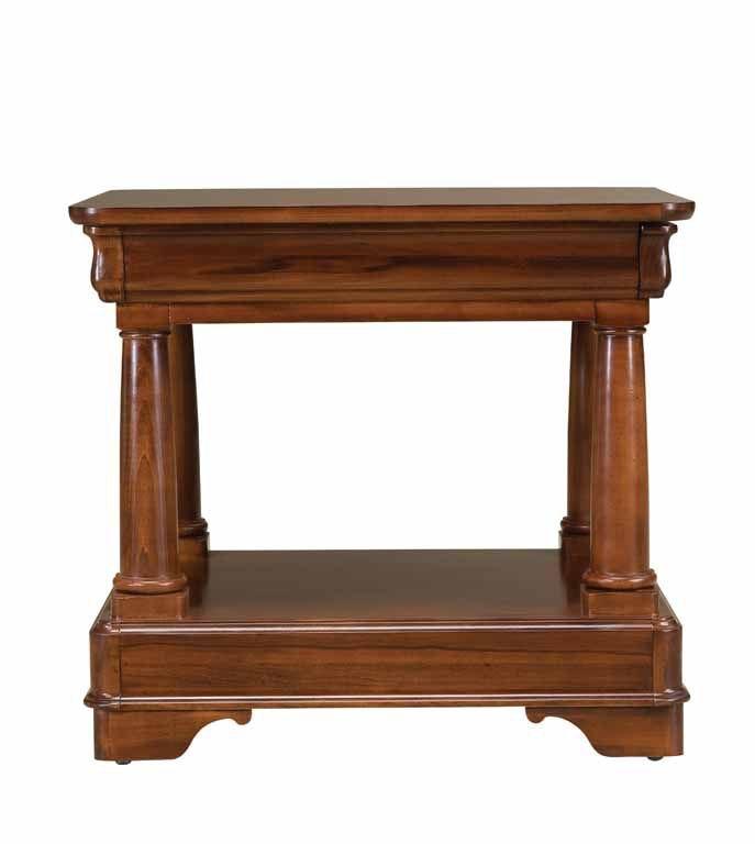 Drexel Living Room Corner Table