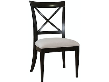 Drexel Dining Room X Side Chair