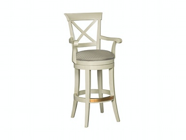 Drexel Heritage Bar and Game Room X Back Bar Stool