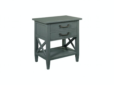 Drexel Heritage Bedroom Stencil Night Stand