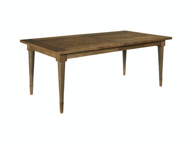 Drexel Heritage Dining Room Herringbone Dining Table