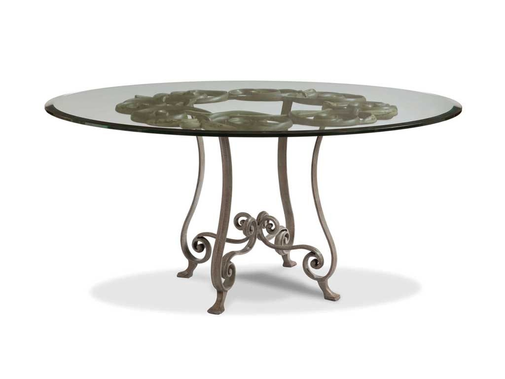 Drexel Heritage Dining Room Violetta Pedestal Table 850 690   Staianou0027s  Furniture   Califon, NJ