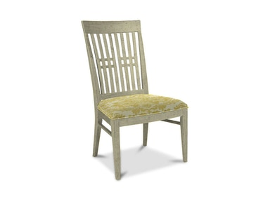 Drexel Heritage Dining Room Slat Back Side Chair