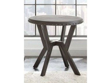 Steve Silver Alamo Round End Table AL700E