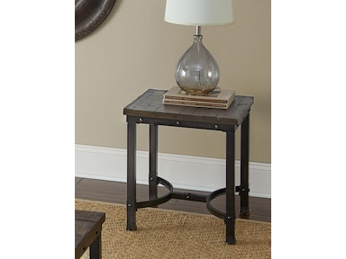 Steve Silver Ambrose Square End Table AM200E