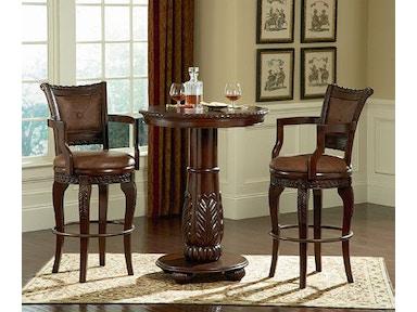 Steve Silver Bar And Game Room Antoinette Swivel Bar Chair