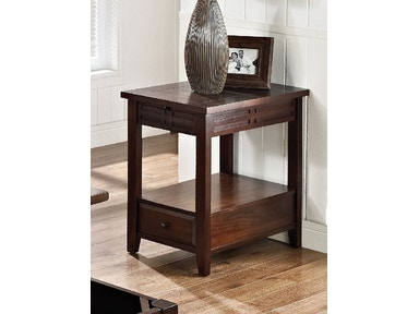 Crawford Street Crestline Chairside Table 538390