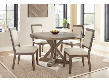 Steve Silver Dining Room Molly Round Dining Table MY5454T - Great ...