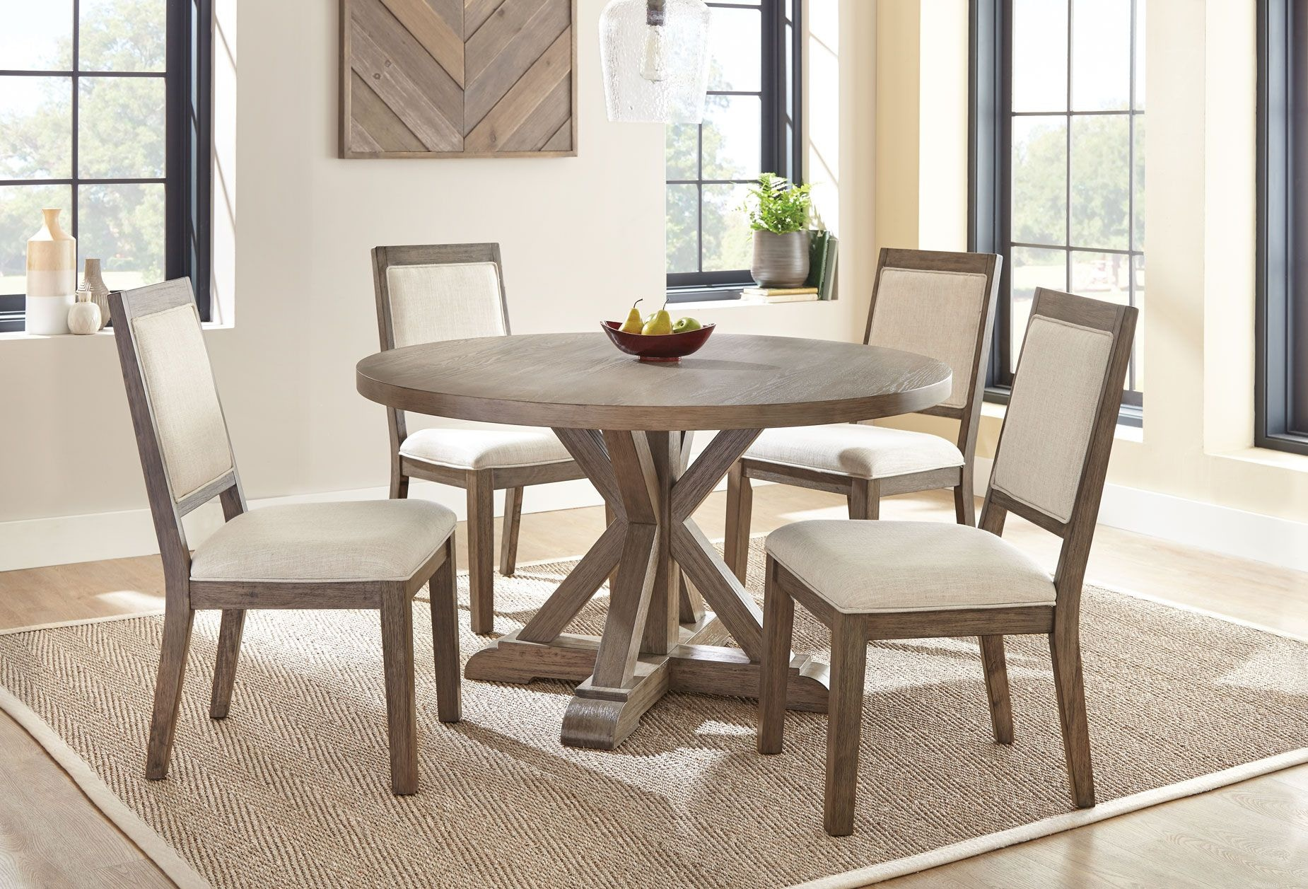 Steve Silver Molly Round Dining Table MY5454T ...