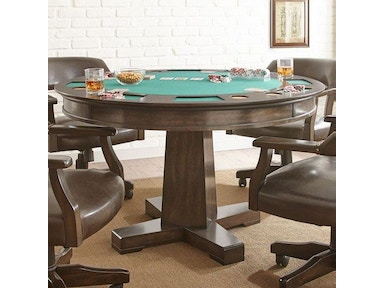 Steve Silver Ruby Game Table Base RU250gb