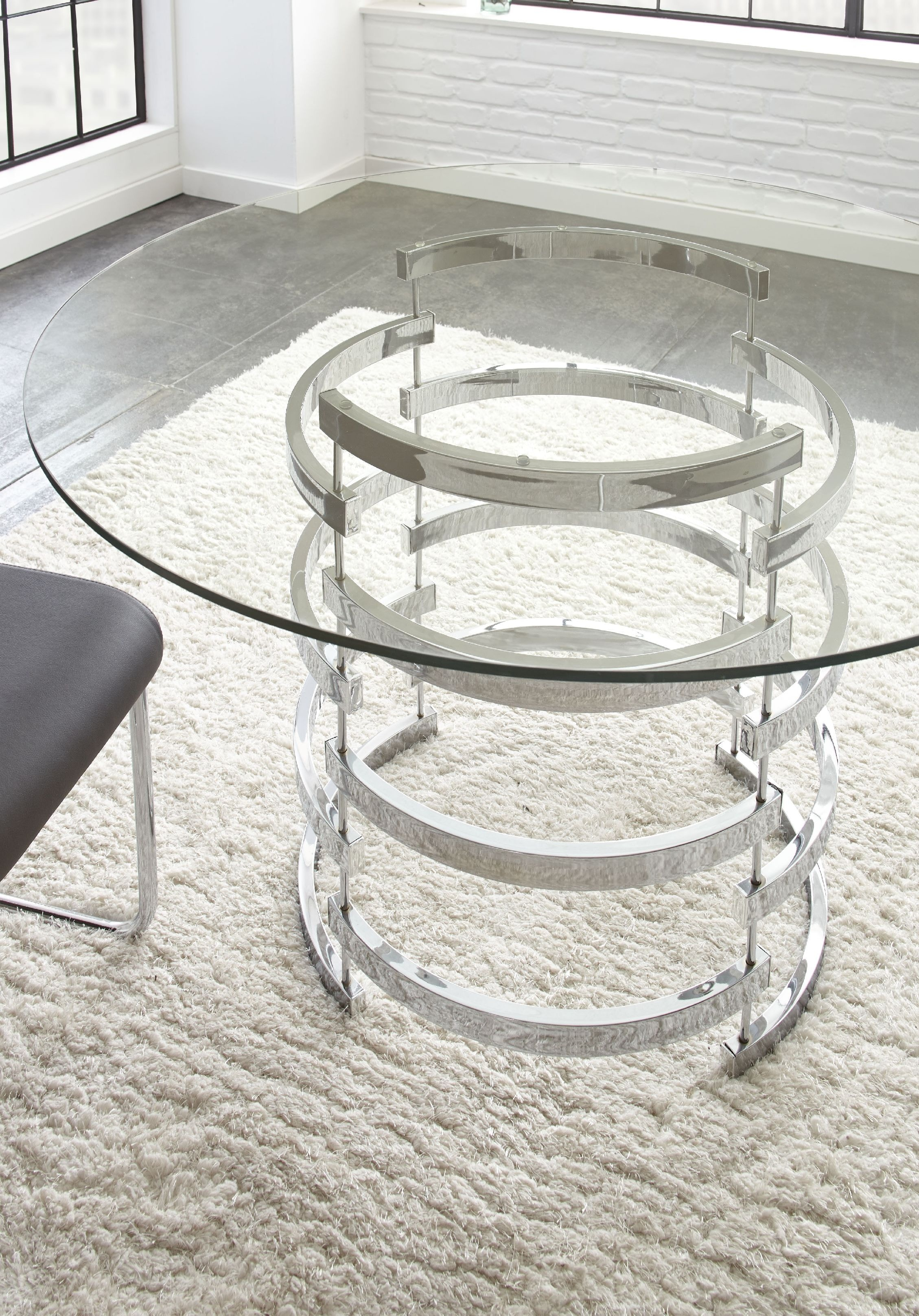 Steve Silver Dining Room Tayside Glass Table Top TS450T At Kaplans Furniture