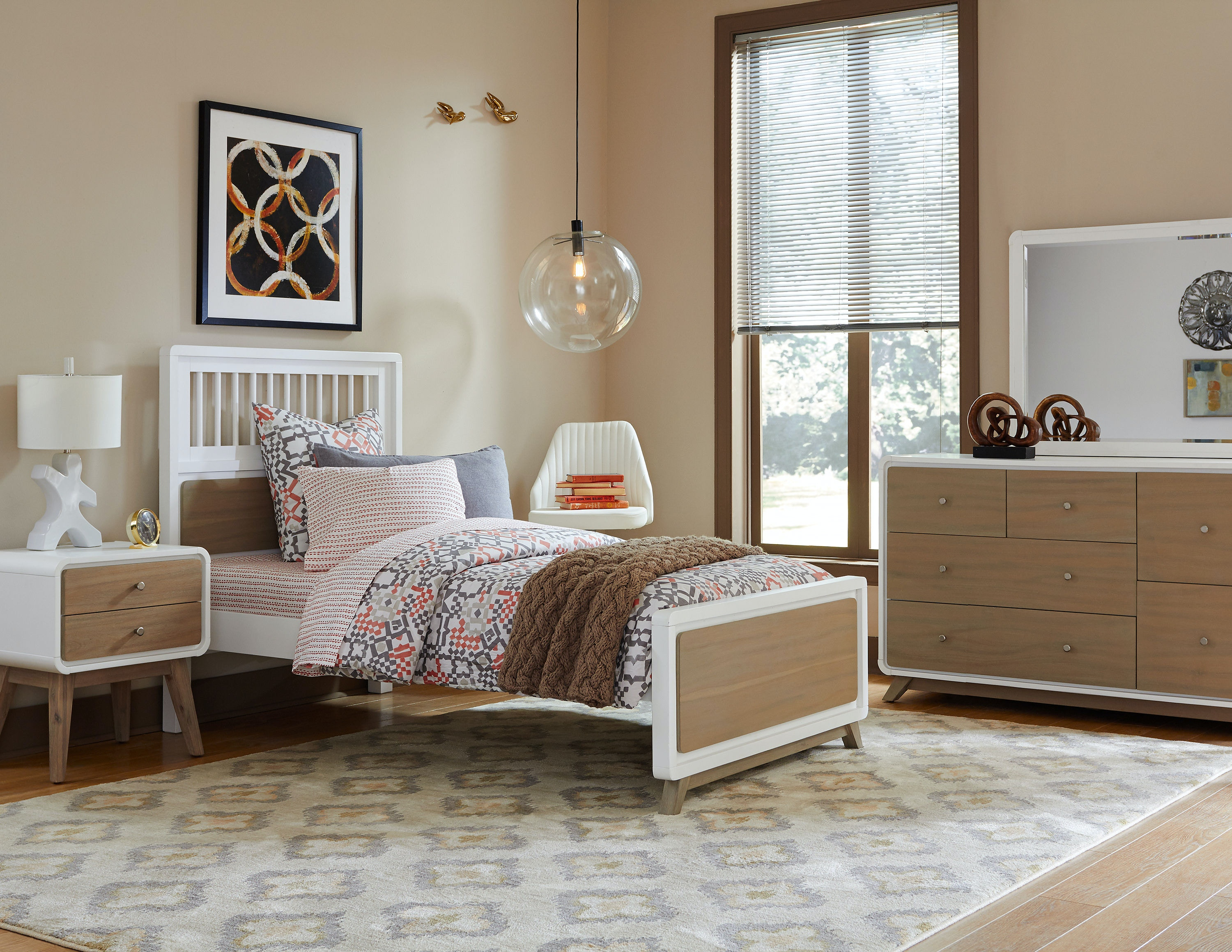 Hillsdale Kids And Teen Youth Ease End Spindle Twin Bed 7100 331N At Lynch  Furniture