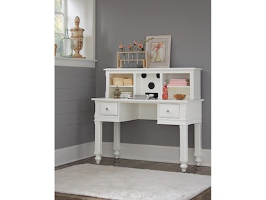 Hillsdale Kids and Teen Lake House White Entertainment Hutch 1550