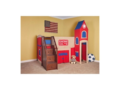 Hillsdale Kids and Teen Firehouse Tent Tower 0020