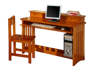 Hillsdale Kids and Teen Honey Desk 2167