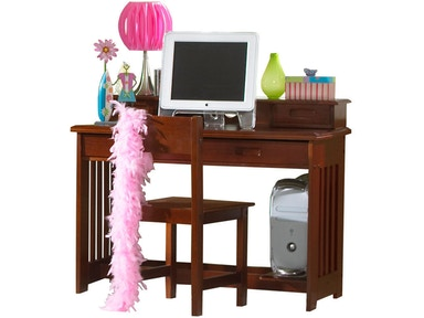 Hillsdale Kids and Teen Merlot Desk 2867