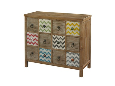 Powell Furniture Squiggly-Dee 12 Drawer Console