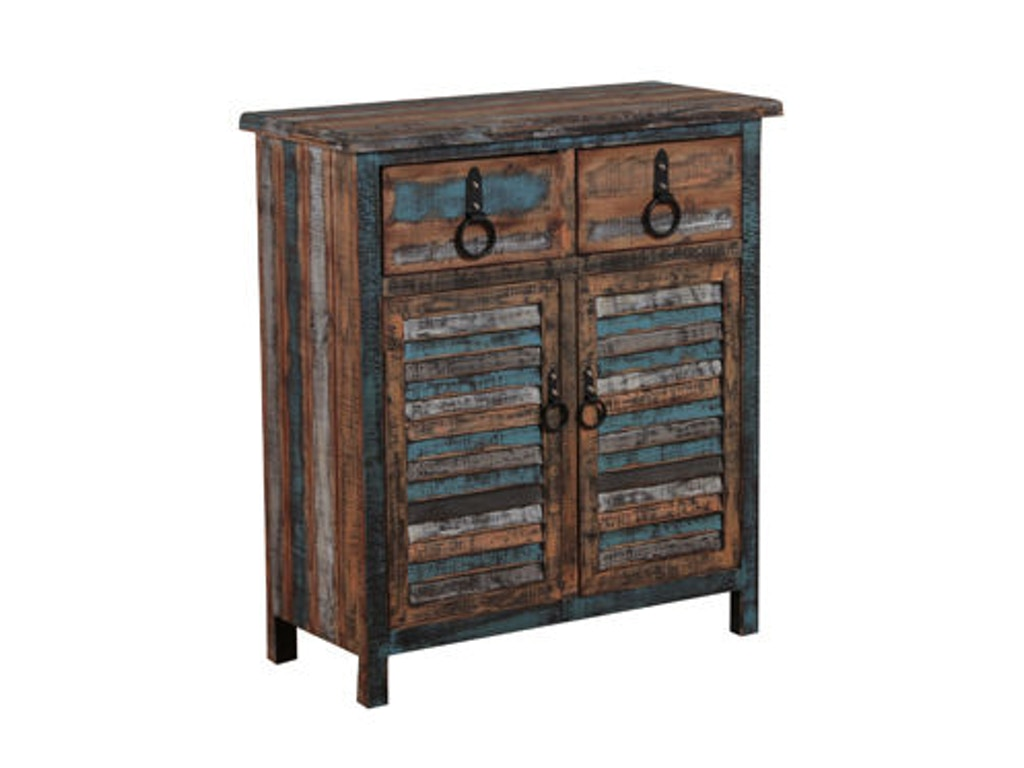 768 #64493C  Youth Calypso 2 Drawer 2 Door Console 114 660 At Goffena Furniture pic Oh Doors 36611024